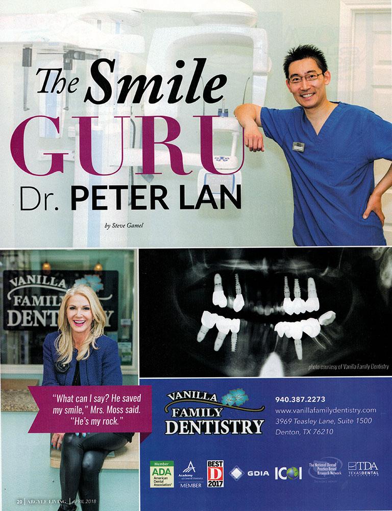 Peter Lan | Our Doctor in Denton